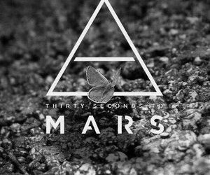 30 seconds to mars, triad, and butterfly image