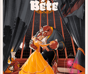 beauty and the beast, movie, and belle image