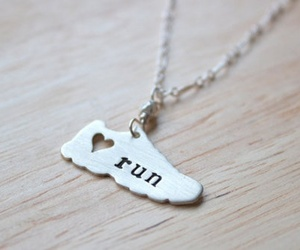 run and necklace image