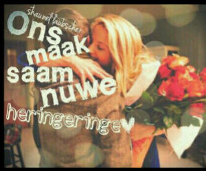 afrikaans, liefde, and ons image