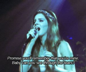 lana del rey, blue jeans, and music image