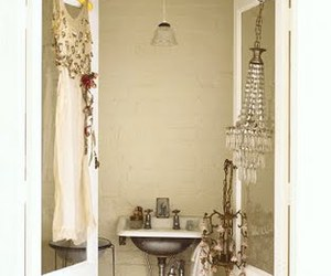 antique, bathroom, and french image