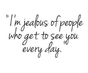 jealous, love, and quotes image