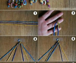 diy, bracelet, and Easy image