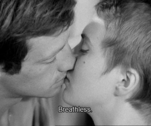 breathless, film, and nouvelle vague image