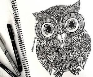 balck and white, draw, and drawing image