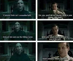 harry potter, sherlock, and voldemort image