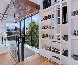 shoes, closet, and luxury image
