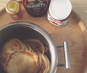 food, nutella, and yum image