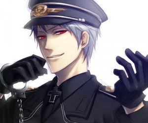anime, fanart, and handcuffs image