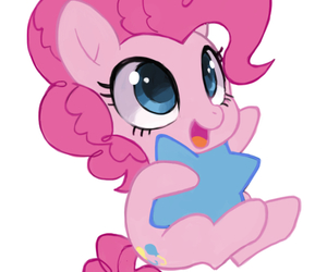 chibi, star, and pinkie pie image