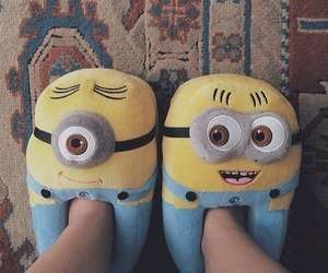aw, minions, and despicable me image
