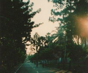 road, street, and vintage image