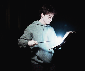 harry potter, lumos, and daniel radcliffe image