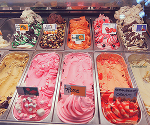 delicious, ice cream, and food image