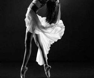 ballet, dance, and woman image