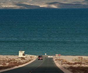 sea, road, and car image