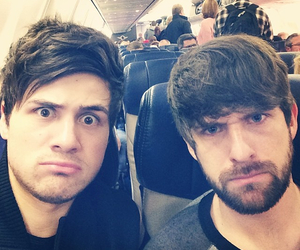 boys, selfies, and airport image