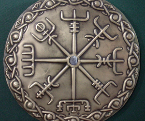 decoration, vegvísir, and nordic image