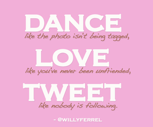 dance, pink, and love image