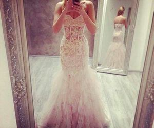 dress white sexy wedding image