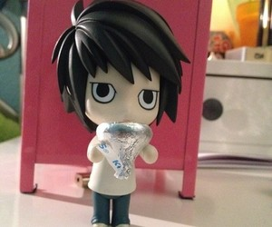 chibi, death note, and nendoroid image