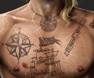 tattoo, assassin's creed, and edward kenway image