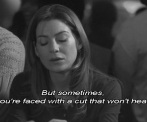 grey's anatomy, quote, and cut image