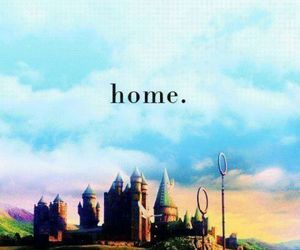 home, harry potter, and hogwarts image