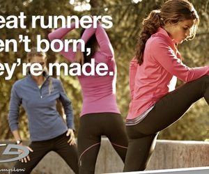 fitness, run, and quote image