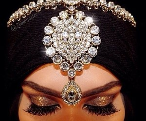 hijab, make up, and eyes image