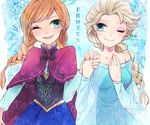 frozen elsa anna image