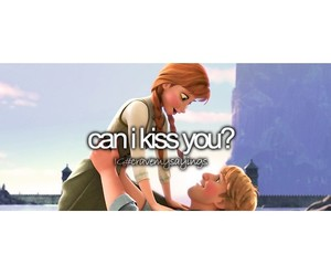 frozen, kiss, and love image