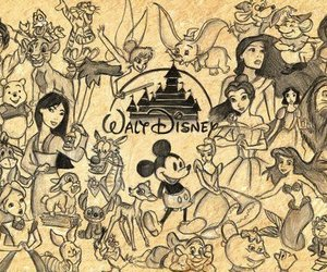 disney, walt disney, and princess image
