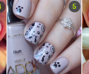 animals, nail, and nail art image
