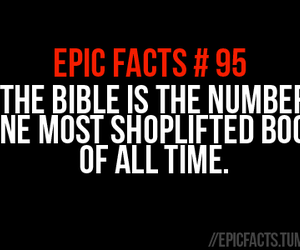 bible, book, and epic image