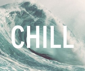 chill, waves, and summer image