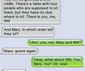 text, funny, and couple image