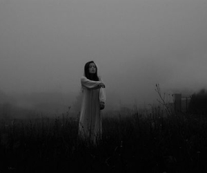 dark, fog, and grunge image