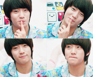 gongchan, b1a4, and cute image