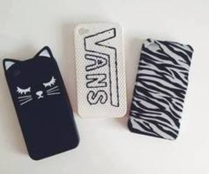 vans, cat, and case image