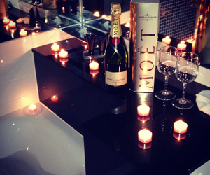 moet, luxury, and candle image