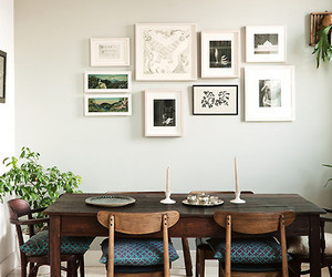 decor, home, and dinning room image