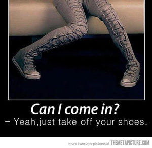 funny and shoes image