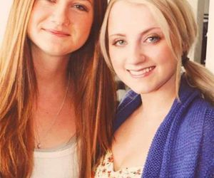 harry potter, bonnie wright, and evanna lynch image