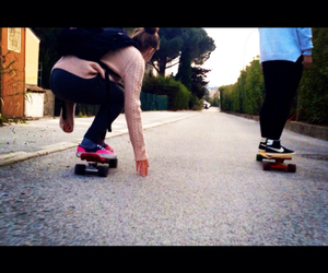freedom, longboard, and my life image