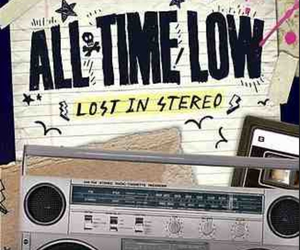 all time low, lost in stereo, and Lyrics image