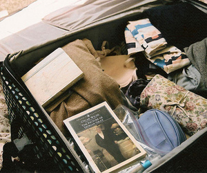 vintage, book, and clothes image