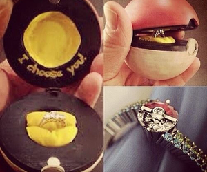 pokemon, ring, and love image