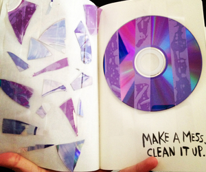 break, cd, and clean image